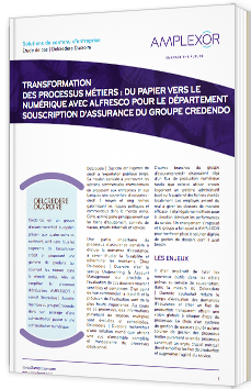 Transformation des processus métiers : du papier vers le numérique avec Alfresco pour le département souscription d'assurance