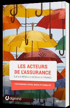 Les acteurs de l'assurance sur les réseaux sociaux en France - Performance, Social Media et visibilité