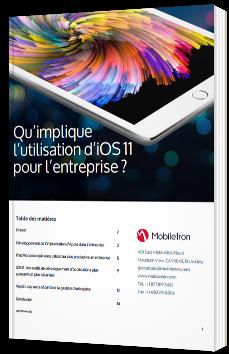 Qu'implique l'utilisation d'iOS11 pour l'entreprise?
