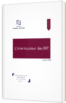 L'interlocuteur des IRP