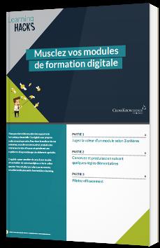 Musclez vos modules de formation digitale