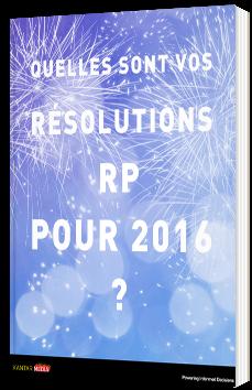 20 Résolutions RP pour 2016