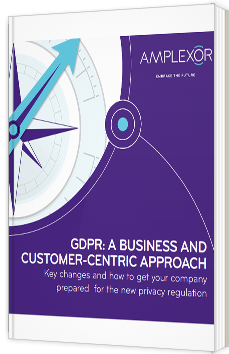 GDPR: a business and customer-centric approach