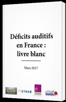 Déficits auditifs en France : livre blanc