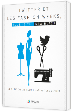 Twitter et les fashion weeks, blue is the new black