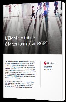 L'emm contribue à la conformité au RGPD - Livre Blanc - MobileIron