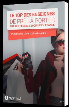Le Top des enseignes de prêt-à-porter sur les réseaux sociaux en France