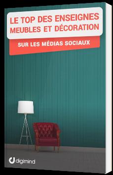 Le Top des enseignes meubles et décoration sur les médias sociaux