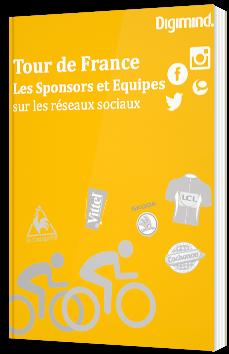 Tour de France - Les sponsors et équipes sur les réseaux sociaux