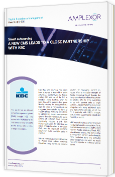 A new CMS leads to a close partnership with KBC