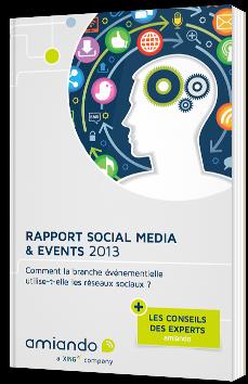 Rapport Social Media & Events 2013