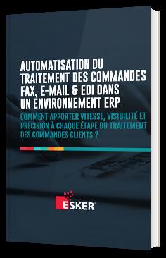 Automatisation du traitement des commandes fax, e-mail & EDI dans un environnement ERP