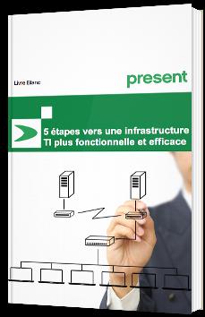 5 étapes vers une infrastructure TI plus fonctionnelle et efficace