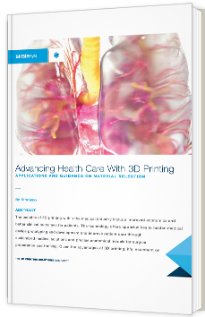 Advancing Health Care With 3D Printing