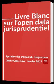Livre blanc sur l'open data jurisprudentiel
