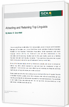 Attracting and Retaining Top Linguists
