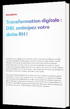 Transformation digitale : DSI, anticipez votre dette RH !