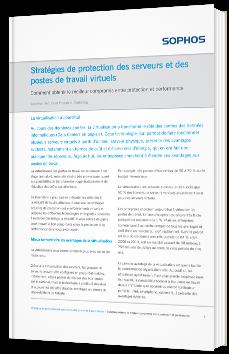 Stratégies de protection des serveurs et des postes de travail virtuels