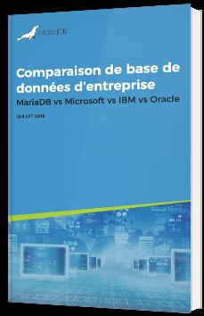 Comparaison de base de données d'entreprise MariaDB vs Microsoft vs IBM vs Oracle