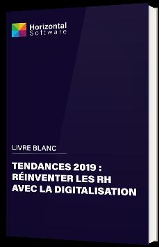 Tendances 2019 : réinventer les RH avec la digitalisation