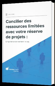 Concilier des ressources limitées avec votre réserve de projets