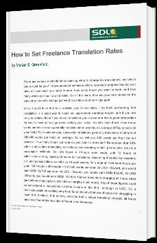 How to Set Freelance Translation Rates