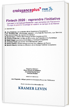 Fintech 2020 : reprendre l'initiative