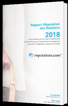 Rapport réputation des Retailers 2018