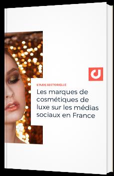 Les marques de cosmétiques de luxe sur les médias sociaux en France