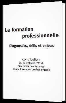 La formation professionnelle - Diagnostics, défis et enjeux