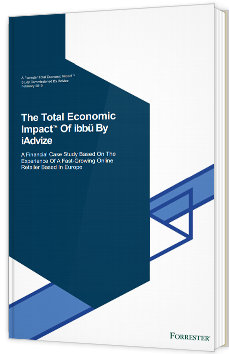 The Total Economic Impact Of ibbü By iAdvize™