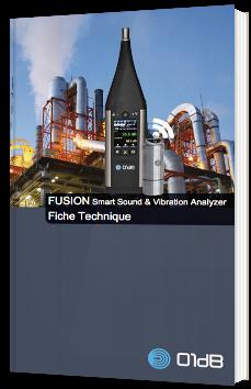 FUSION - Smart Sound & Vibration Analyse - Fiche technique
