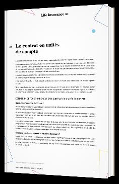 Le contrat en unités de compte