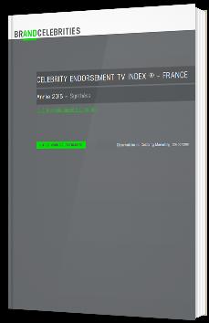 Celebrity Endorsement TV index ® - FRANCE