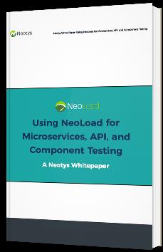 Utilisation de NeoLoad pour le test de Microservices d'API et de composants