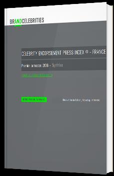 Celebrity endorsement press index ® 2016  - FRANCE