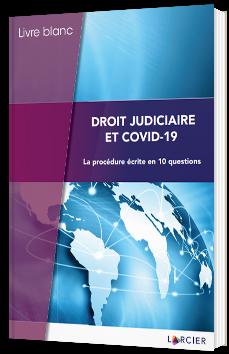 Droit judiciaire et COVID-19