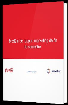 Modèle de rapport marketing de fin de semestre