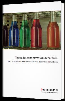 Tests de conservation accélérés pour colorants naturels dans trois modèles de denrées alimentaires