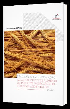 Procédés chimie - bio - agro : écoconception des aliments, bioproduits, bioprocédés, et procédés alimentaires