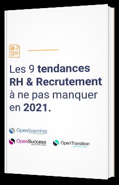 Les 9 tendances RH & Recrutement à ne pas manquer en 2021