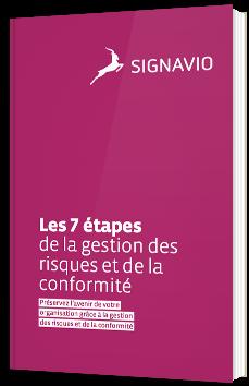 Les 7 étapes de la gestion des risques et de la conformité
