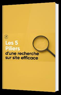 Les 5 piliers d'une recherche sur site efficace