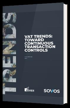 Rapport de Sovos 2021 : Avis d'experts sur les tendances mondiales en matière de TVA