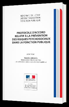 Protocole d'accord relatif à la prévention des risques psychosociaux dans la fonction publique