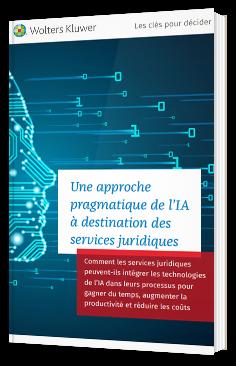 Une approche pragmatique de l'IA à destination des services juridiques
