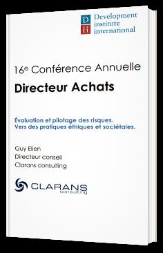 Directeurs Achats - Evaluation et pilotage des risques, vers des pratiques éthiques et sociétales