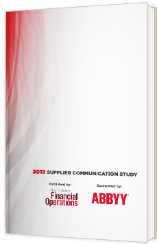 2013 Supplier Communication Study