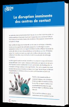 La disruption imminente des centres de contact
