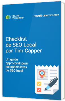 Checklist de SEO Local par Tim Capper